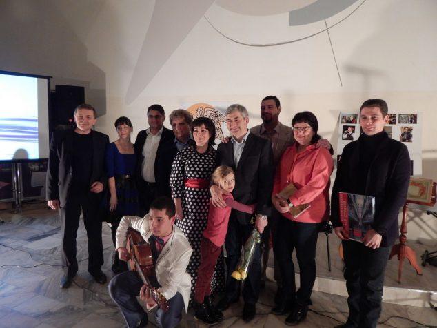 На творческом вечере в «Салоне Татьяны Шереметевой «Вишневый сад»