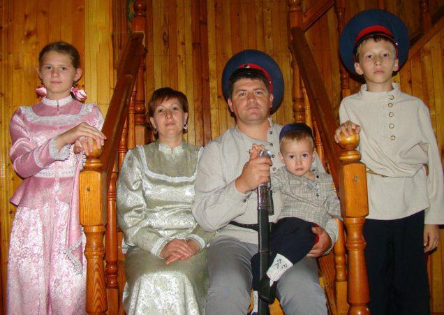 Надежда Банникова. Казачье семейство