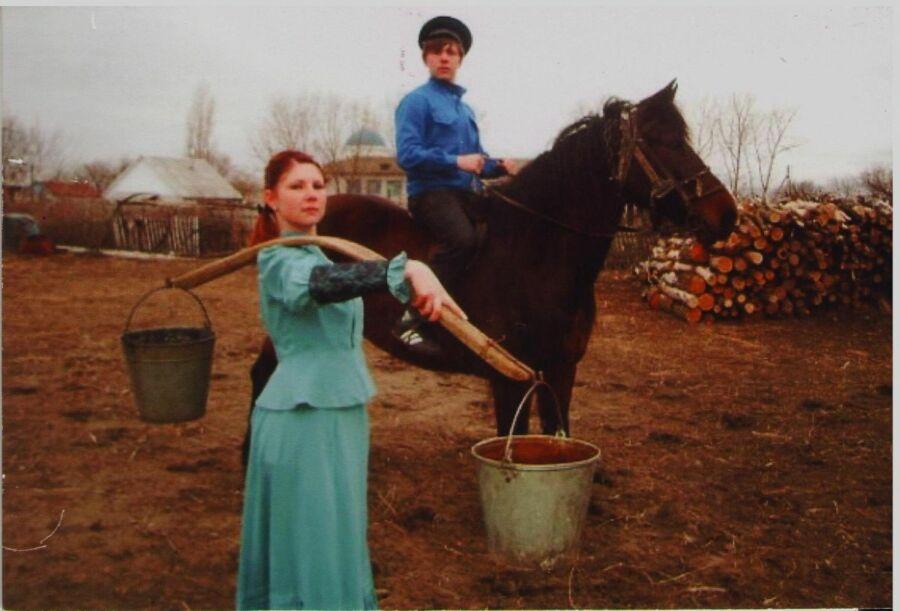 Муравьева Елена, 32 года, х. Котовский Урюпинского района. Аксинья и Григорий