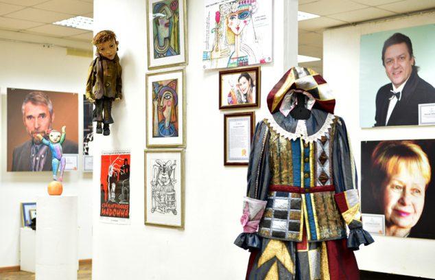 Мини-выставка Екатерины Гельперн