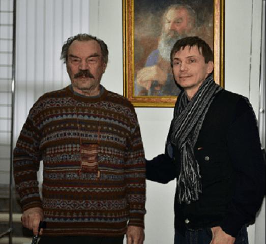 Актер Петр Зайченко на Царицынской музе