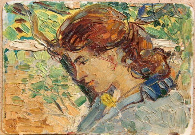 Женский портрет Виктора Лосева