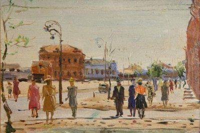 Виктор Лосев. Сталинградская улица
