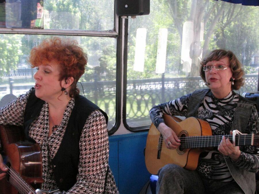 Людмила Салеева и Наталья Андреева