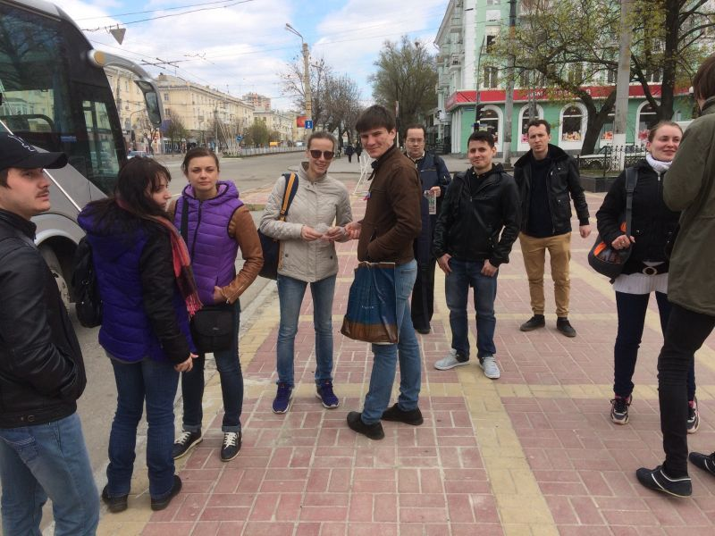 Волгоградский ТЮЗ в Луганске