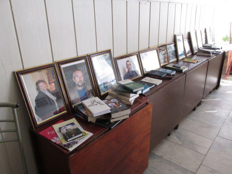 Выставка книг волгоградских поэтов