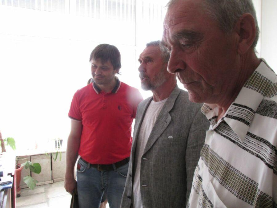 Никита Самохин, Евгений Лукин, Борис Гучков