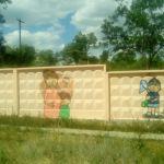 Стены забора волгоградского роддома №1 станут арт-объектом