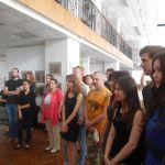 12 июля в выставочном зале на Краснознаменской, 6 открылась выставка дипломных работ студентов