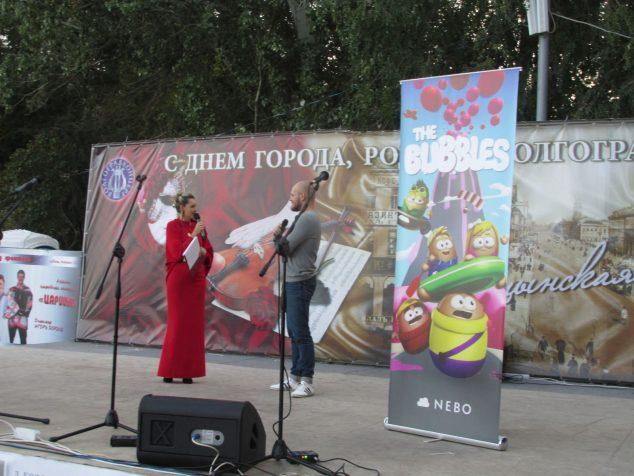 Автор мультсериала «Пузыри»Михаила Ершова