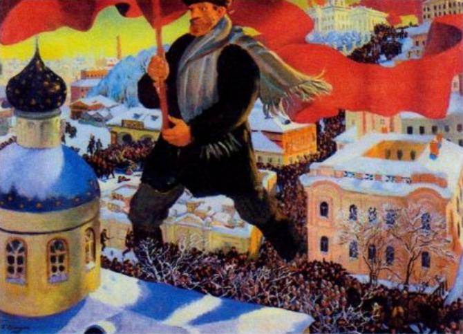 Ольга Малкова об Октябрьской революции в русской живописи