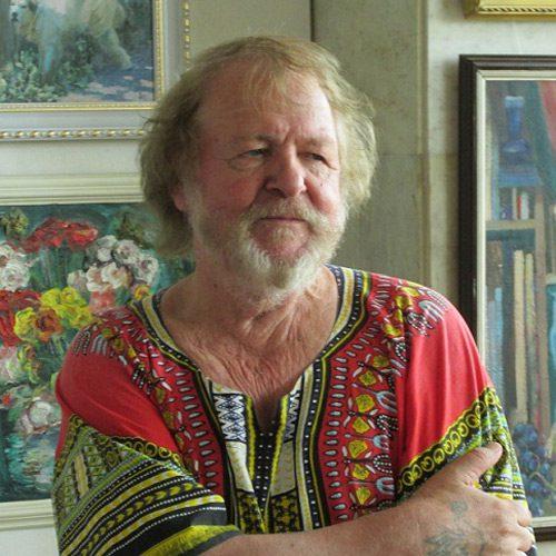 Леонид ГОМАНЮК (г. Волжский), известный художник, романтик в живописи