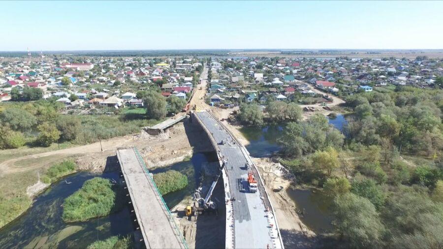 Ахметшина Лианна, 16 лет, ст. Алексеевская. Строительство моста