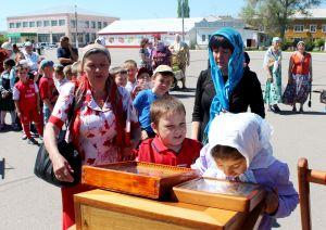 Казьмина Татьяна, 34 года, ст. Алексеевская. Знакомство детей с иконой