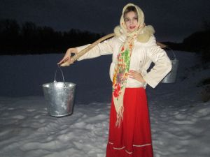 Муравьева Елена, 33 года, х. Котовский Урюпинского района. Казачка Аксинья (1)