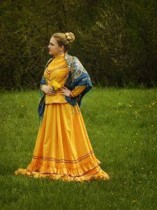 Самсонова Варвара, 12 лет, х. Долгий Урюпинского района. Хороша Любаша