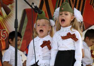Федотова Кристина, 17 лет, ст. Алексеевская. День Победы