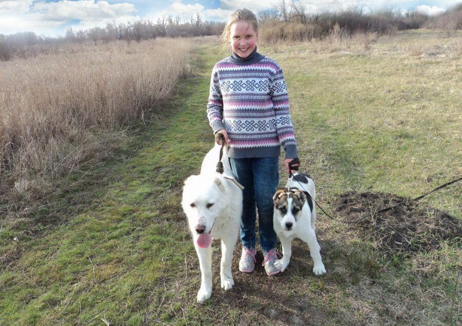 Эссаулова София, 11 лет. Волгоград. Прогулки по сельским угодьям