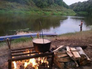 Грязев Александр, 12 лет, Камышин. Рыбалка на Хопре