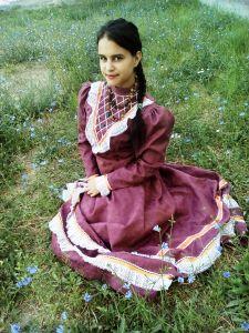 Кардяшова Алина, 16 лет, ст. Нижний Чир Суровикинского района. Поля цветущие моей станицы
