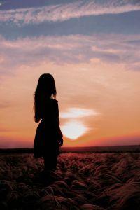 Рожкова Мария, 18 лет, Волгоград. Вечер в степи