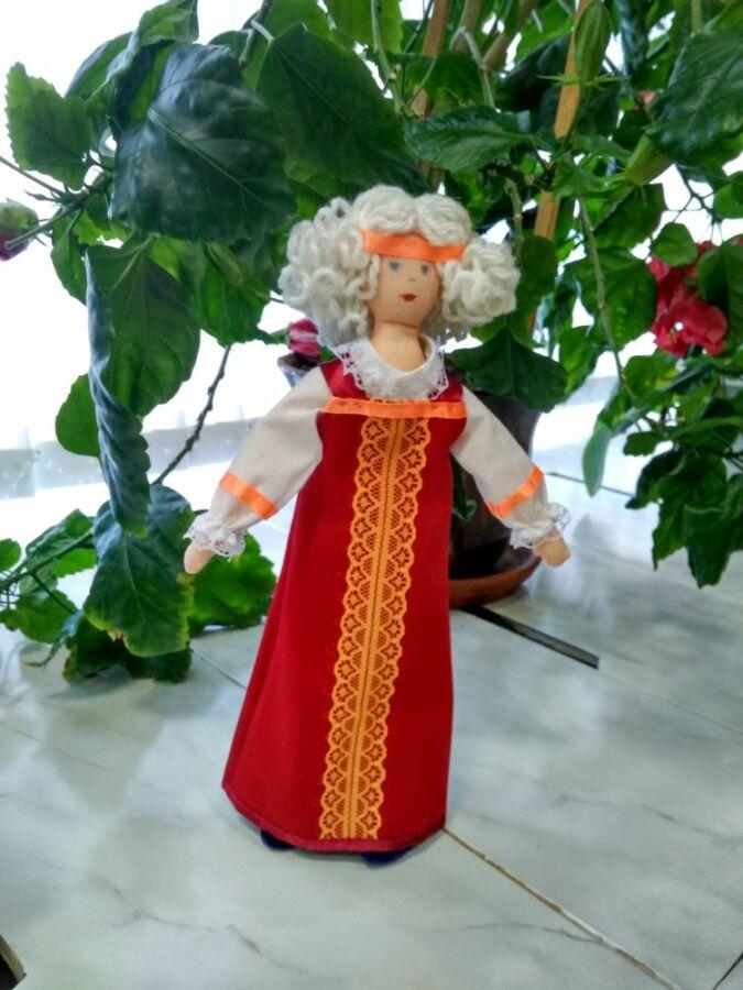Салмина Наталья, 59 лет, Волгоград. Русский костюм. Кукла-крупеничка. Лето