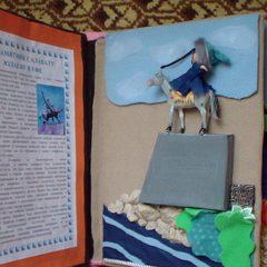 Файзуллина Валерия, 9 лет, Нефтекамск, Башкирия. Тактильная книга для слабовидящих детей Семь чудес Башкортостана. Страница 3