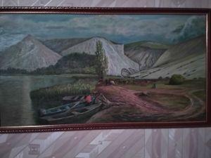 Шеремет Дарья, 10 лет, Калач-на-Дону. Вдоль реки Дон - меловые горы
