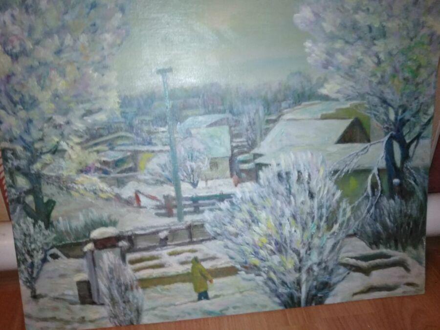 Шеремет Дарья, 10 лет. Калач-на-Дону. Зимушка-зима, все снегом замела