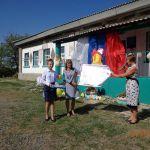 Как в Камышинском районе работают с плакатами