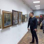 Зима в работах волгоградских художников