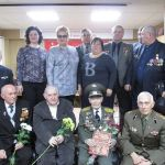 Колонна Бессмертного Сталинграда в рядах Бессмертного полка