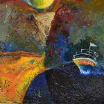 Выставка  Елены  Олейниковой  «Квартира 2/1»