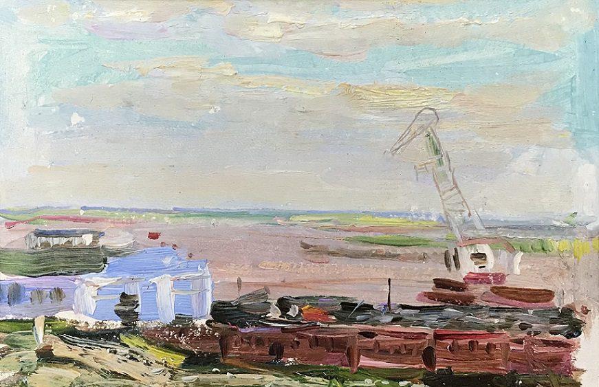 Живопись Виктора Лосева из частной коллекции