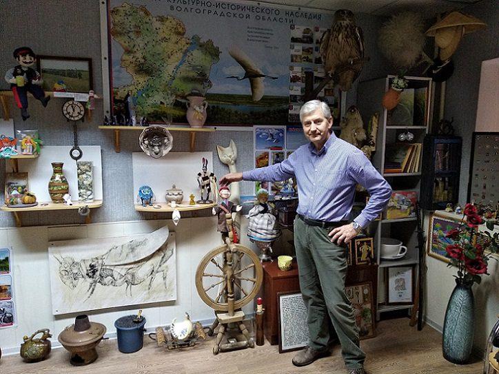 Анатолий Карман: «Лавка мастеров – это собирательный образ Волгоградской области, которую мы толком еще не знаем»