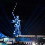В концерте Победы на Мамаевом кургане участвовали волгоградские артисты