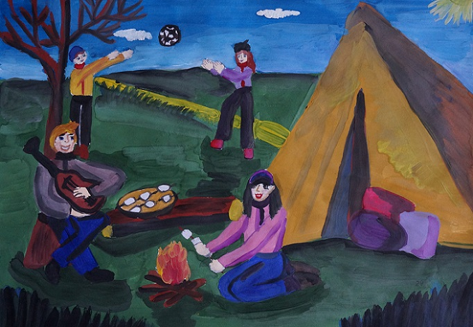 Итоговая выставка VI Областного фестиваля детского художественного творчества «Золотая палитра»