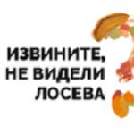 VI фестиваль «Извините, Вы не видели Лосева?»  состоится 15 мая