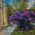 Выставка художника Олега Уланова «Синева родного края»