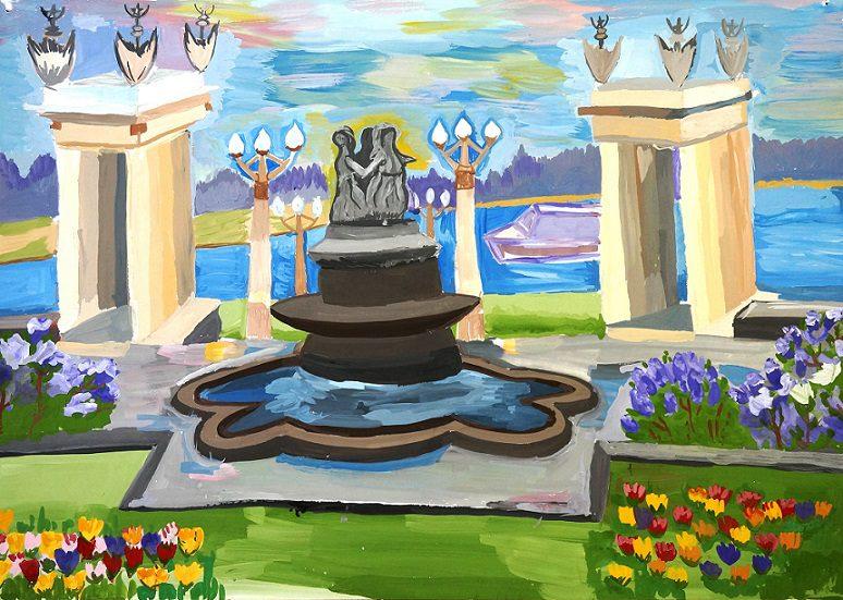 """Выставка """"Волгоград. Город, в котором тепло"""" в Детской галерее"""
