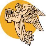 Рисунок профиля (Царицынская муза)